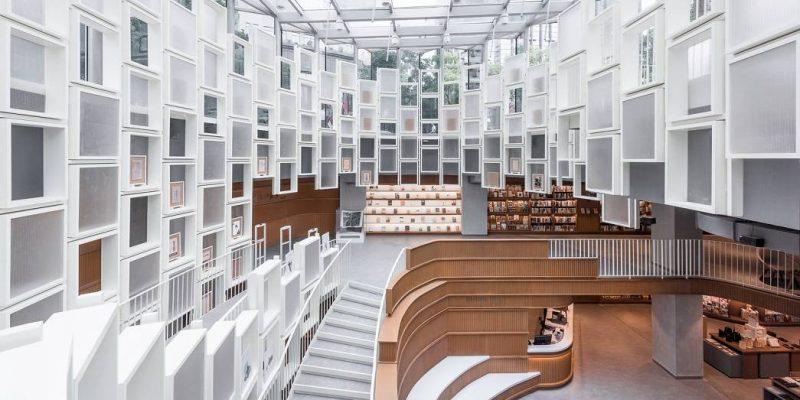 طراحی داخلی کتاب فروشی Altlife در Ningbo / معماران Kokaistudios