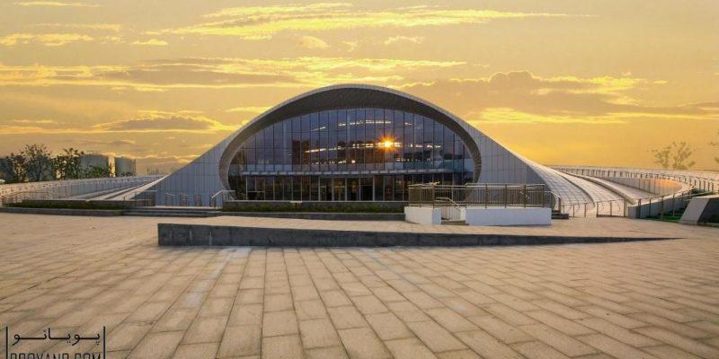 غرفه نمایشگاهی الکترونیک در چین / SIADR