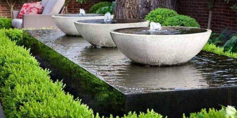 آب نما در طراحی حیاط منزل، نمونه های پرطرفدار مدرن را بشناسید
