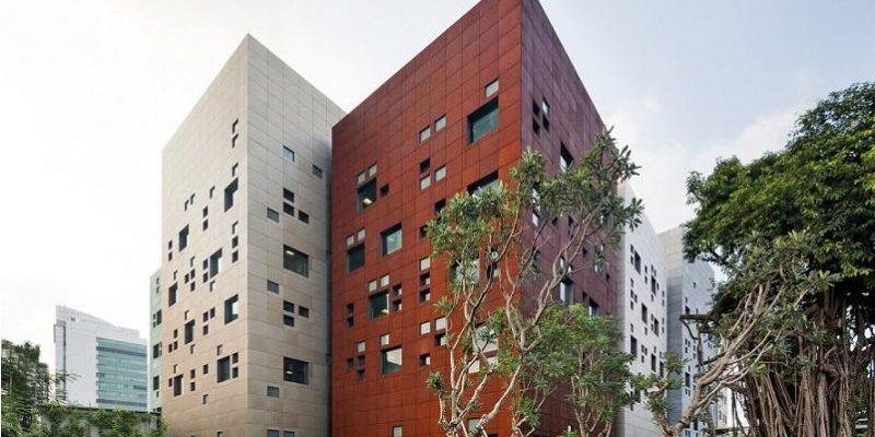 طراحی معماری سفارت استرالیا در جاکارتا
