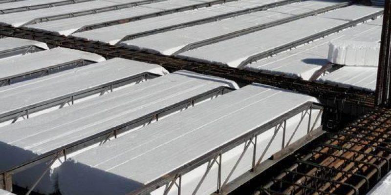 سیستم سقف کرومیت در ساختمان