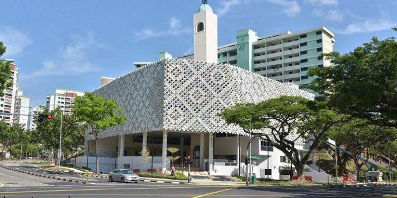 معماری مسجد الانصار در سنگاپور/ گروه معماری ONG&ONG Pte Ltd