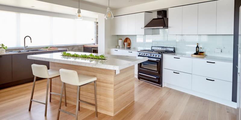 ۸ روش برای زیبا کردن جزیره آشپزخانه