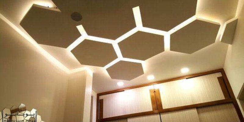 مدرنترین نورپردازی LED برای سقف کاذب سقف کناف و دیوار خانه