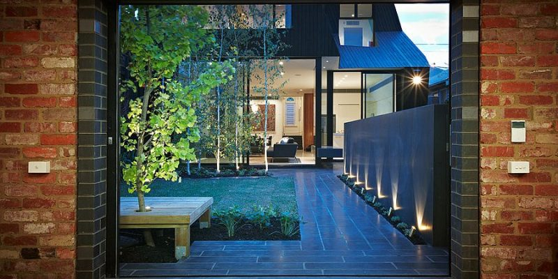نورپردازی زمینی : راهکارهایی برای ایجاد یک استایل خیرهکننده در معماری داخلی
