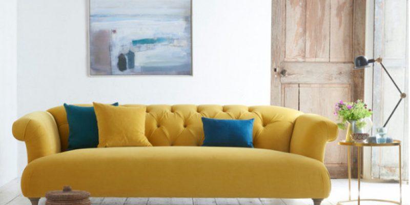 رنگ زرد آفتابی و اتاق روشن و درخشان کنید