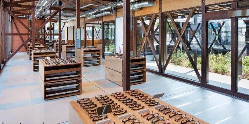 بازسازی و طراحی داخلی فروشگاه عینک فروشی جینز در ژاپن / گروه معماری شماتا آرکیتکتز