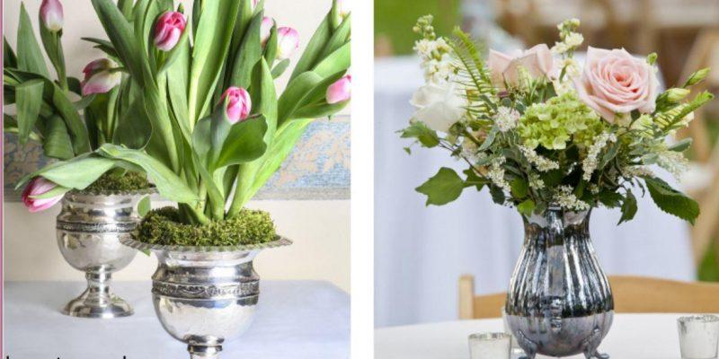 ظروف نقره برای تزئین خانه چگونه استفاد شود؟