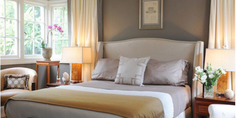 ترکیب رنگ خاکستری و بژ در دکوراسیون منزل
