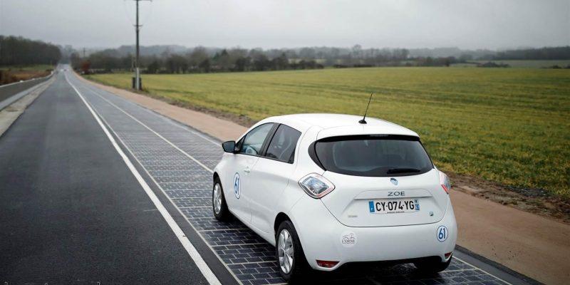طراحی و اجرا اولین جاده پانل خورشیدی جهان در فرانسه