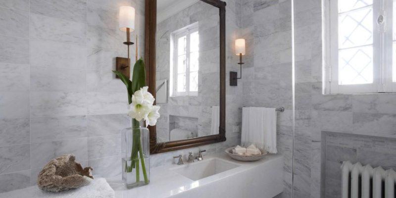 ۴ ایده لوازم فلزی براى جلوه بخشیدن به معماری داخلی حمام