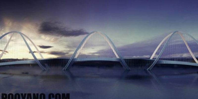 طراحی پل با الهام از حلقه های المپیک برای بازی های زمستانی بیجینگ ۲۰۲۲