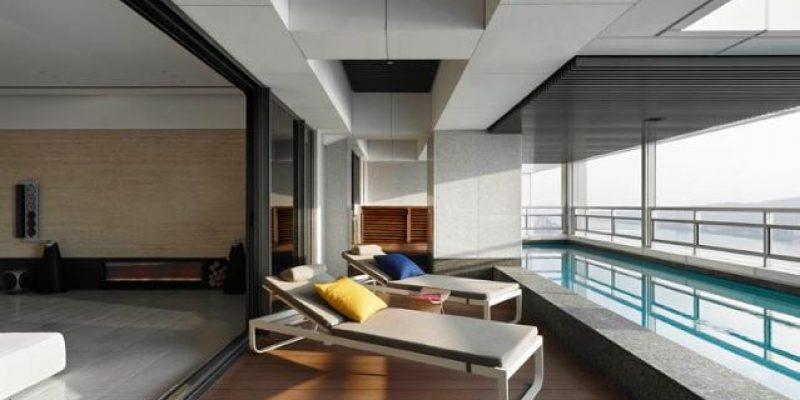 طراحی داخلی آپارتمان بیزمان / شرکت طراحی ساختمان Nic Lee