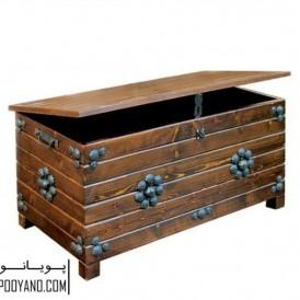 صندوق چوبی ستنی دکوکاج