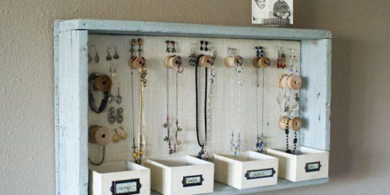 ایده هایی برای نظم دادن به جواهرات