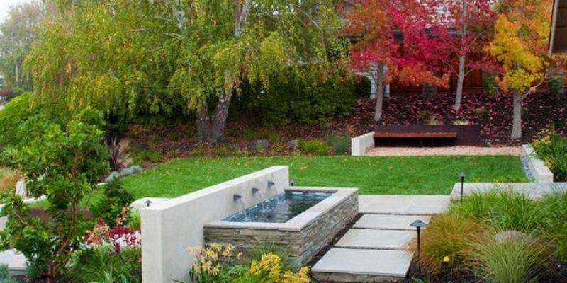 ایده های معماری و محوطه سازی حیاط خلوت که برای تفریح بسیار مناسب هستند
