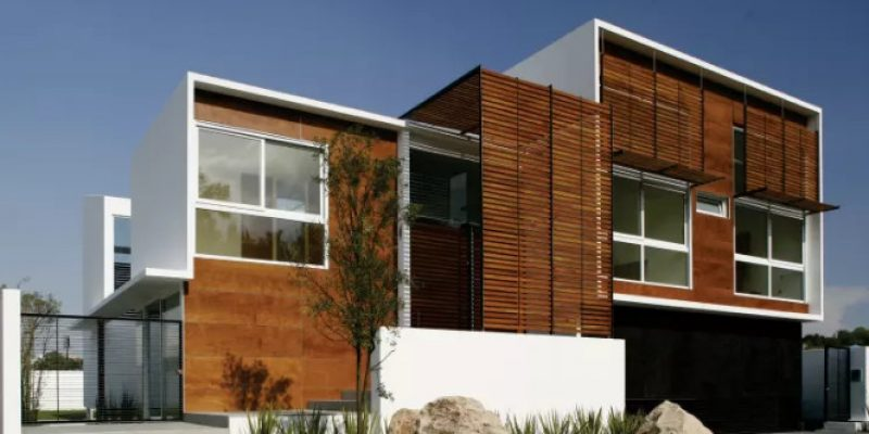 استفاده از چوب ترموود یا چوب حرارت دیده در طراحی نما و طراحی داخلی