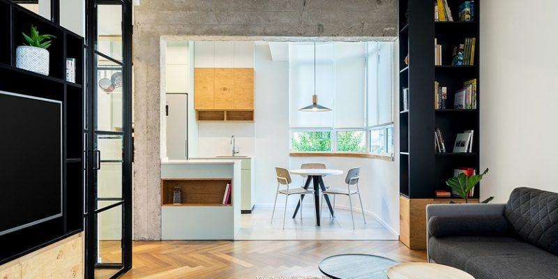 طراحی خانه همراه فضای کار ؛ کار کن و زندگی کن / معماری RUST