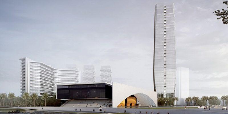 طرح پیشنهادی BIAD برای طراحی مرکز فرهنگی هنری شکو در کنار دریا