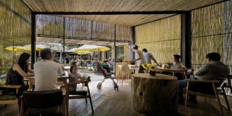 طراحی و معماری بازار و رستوران زراعی چایمیدو / گروه معماران Zhaoyang Architects