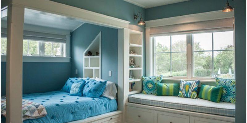 شش فضای آرامش بخش: چگونه از رنگ برای خلق آرامش در خانه استفاده کنیم؟