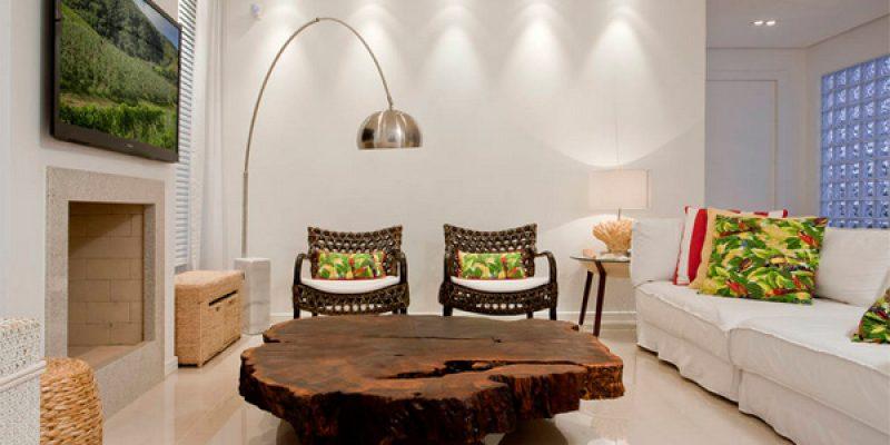 اتاق نشیمن منزل خود را به مکانی زیبا تر تبدیل کنید!