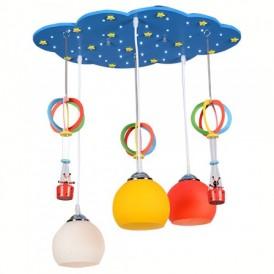 آویز سقفی کودک مدل بالون رنگی