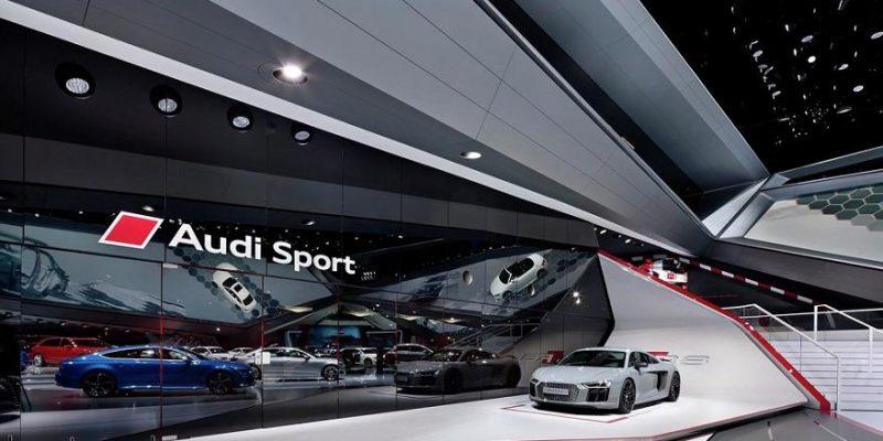 معماری و طراحی داخلی نمایشگاه ماشین آئودی در سال ۲۰۱۵/ گروه معماری Schmidhuber