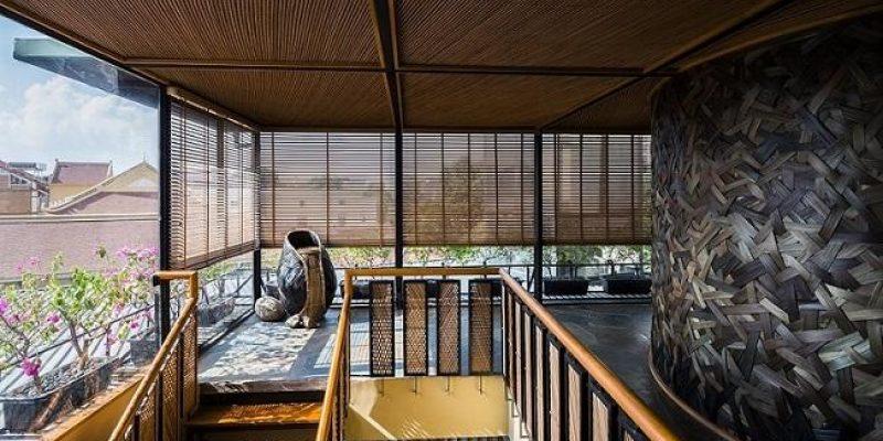 طراحی داخلی رستوران NH Village Architects/ KIMONO