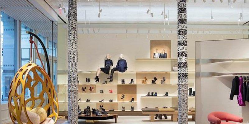 بازسازی فروشگاه پوشاک و خانه مد شعبه لویی وویتون ؛ باز طراحی شده به دست پیتر مارینو در نیویورک