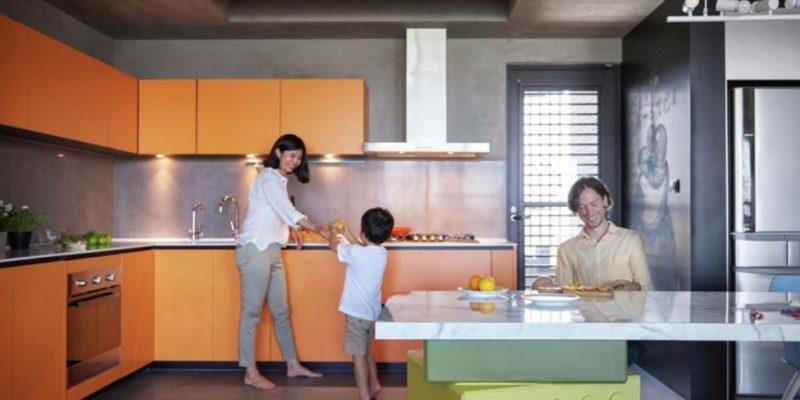 طراحی داخلی خانه با الهام از قطعات لگو