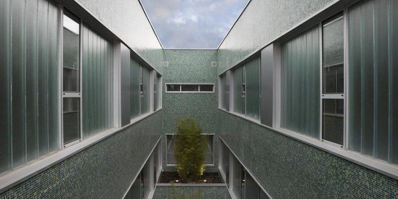 معماری ؛ مرکز درمانی لاکوردوریا (La Corredoria) در اسپانیا