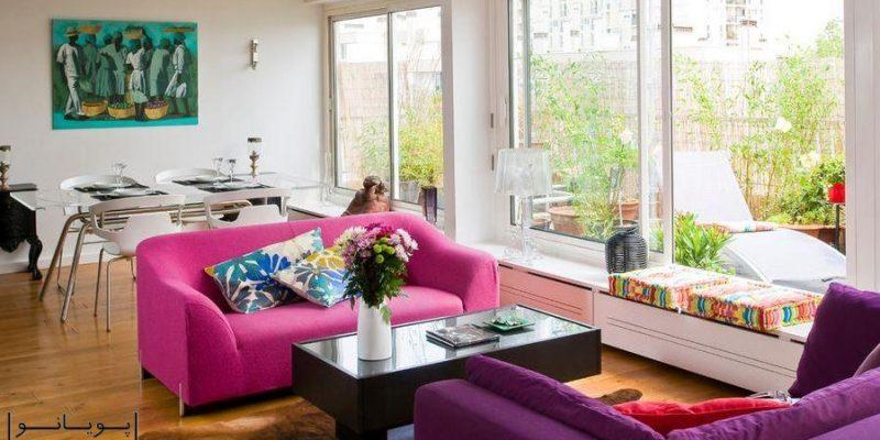 چگونه مبلمان و وسایل منزل را در اتاق نشیمن کوچک بچینید؟