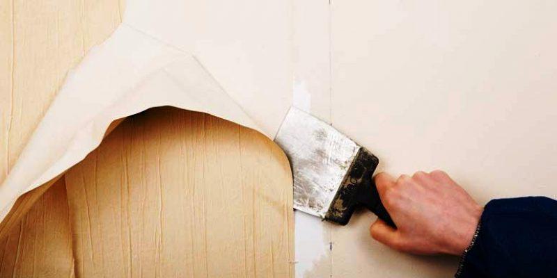 کندن کاغذ دیواری از دیوار ، گام به گام آموزش جدا کردن کاغذ دیواری
