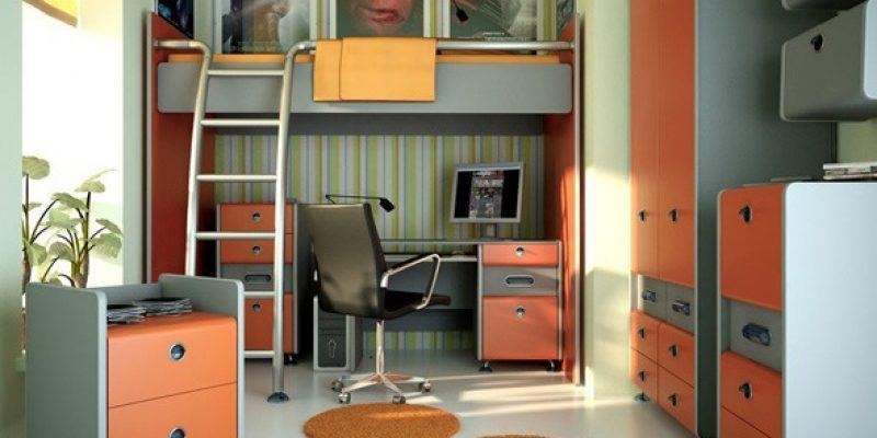 ۲۰ اتاق خواب نوجوانان پسر به عنوان فضای کار و مطالعه مبتکرانه