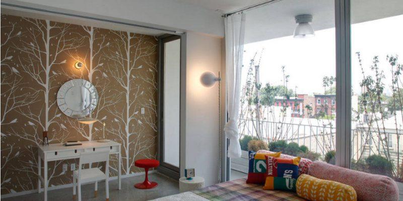 ۱۰ روشی که کاغذ دیواری ها میتوانند عیبها و نقایص طراحی را اصلاح کنند