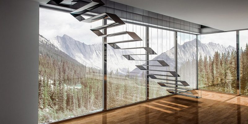 طراحی چند راه پله منحصر به فرد به عنوان یک مرکز توجه فوق العاده طراحی داخلی مدرن(قسمت دوم)