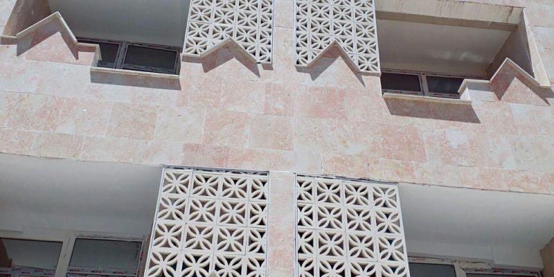 دیوار مشبک سیمانی : انطباق خلاقیت معمارانه با امکان اجرا