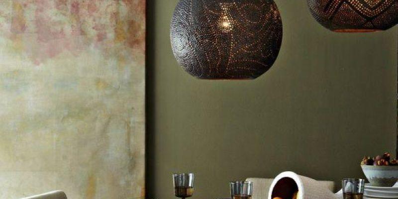 لوسترهای آویزی دستساز برای زیبایی دکوراسیون منزل بسازید