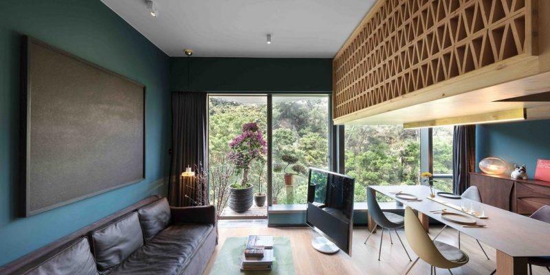 طراحی داخلی خانه درختی کوچک / NC Design Architecture Ltd
