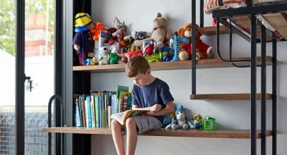 طراحی ۱۰ اتاق کودک که نشانگر بخش مفرح طراحی داخلی است