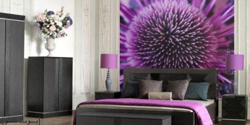 ۱۵ ایده نشاط انگیز برای اتاق خواب با رنگ بنفش