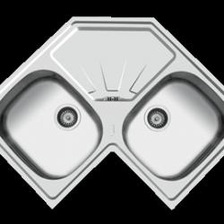 سینک ظرفشویی گوشه توکار مدل ۷۱