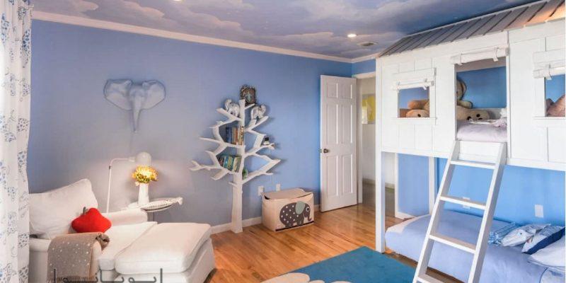 اتاق کودک دو نفره و چند نفره : ۱۵ تخت خواب کودک جذاب که دوست دارند با هم به اشتراک بگذارند