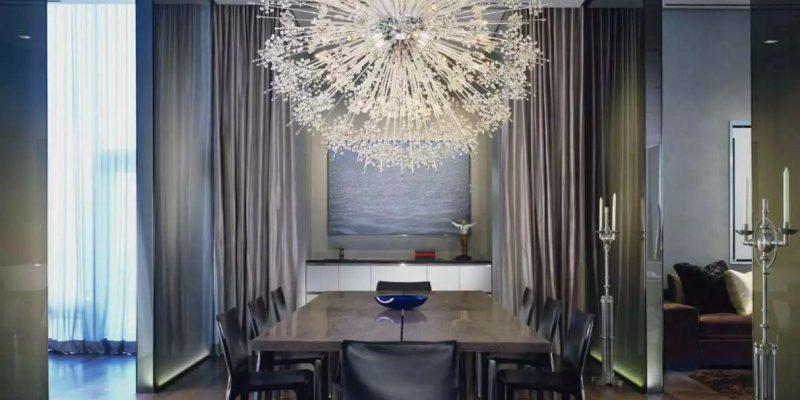 ایده هایی برای لوازم نورپردازی سالن ناهارخوری