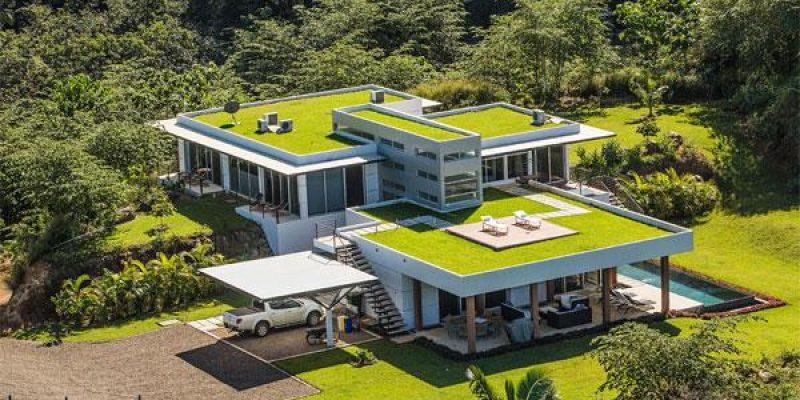 ۲۲ مدل فوق العاده از طراحی خانه با بام سبز