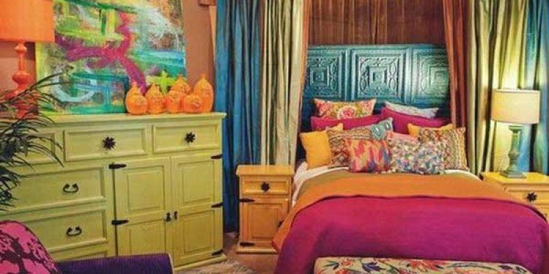 سبک بوهمین در اتاق خواب !