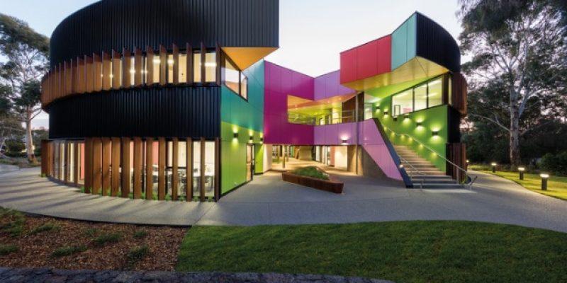 طراحی مدرسه ابتدایی ایوانهوئه Ivanhoe / معماری McBride Charles Ryan
