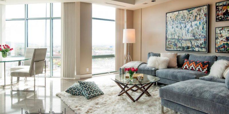 مبلمان خاکستری در دکوراسیون منزل و ۱۰دلیل برای دوست داشتن آنها