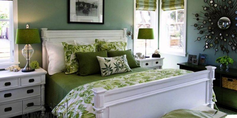 انواع رنگ سبز ؛ پالت سبز رنگ دوست داشتنی مناسب دکوراسیون تابستانی